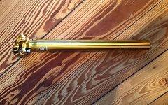 Sixpack Sattelstütze Nail (31,6mm) Gold NEU