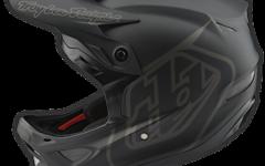 Troy Lee Designs D3 HELM Fiberlite MONO BLACK