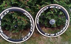 Veltec Speed 6.0 wheel-set Carbon Tubular - Q/R 1396 g