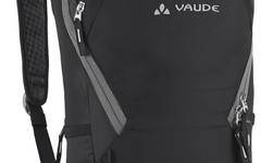 Vaude Cluster 10+3 Rucksack black Gr. M +Regenhülle +Helmhalterung TOP Rechnung vom 26.03.2016
