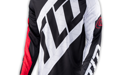 Troy Lee Designs GP JERSEY Gr. L QUEST RED/WHITE/BLACK