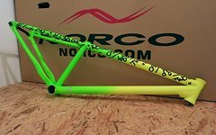 Norco Two50 Dirt Rahmen neon grün gelb jungle lime