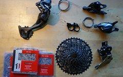 SRAM GX 2x11 Upgrade Kit 2-fach 11-fach Kassette Schaltwerk Kette