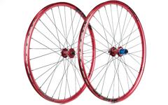 Radsporttechnik Müller Laufradsatz Tune King Kong (rot) Spank Oozy Trail D-Light 1730g Twentyniner 29