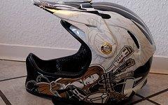 Kali DH/FR Fullface Helm - Gr. M