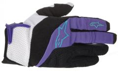 Alpinestars MOAB Gloves Violet Blue Marine XS