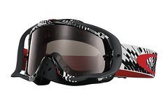 Oakley Crowbar MX Podium Check Dark Grey Goggle *AKTION*
