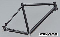Müsing Cyclocross Rahmen Disc in RH 54cm schwarz Gravelbike NR424