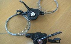 Shimano Deore XT, SL-M8000, 2/11-fach, inkl. i-spec Adapter