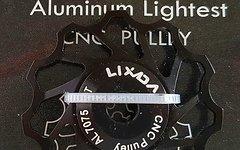 Aluminium Schaltwerkröllchen / 11 Zähne / Pully 11T *schwarz anodisiert*