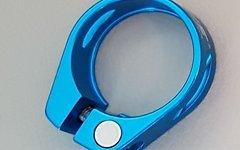 Aluminium Sattelklemme 34,9mm *blau* (für 31,x mm Stütze)