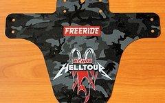 Freeride Magazin MudGuard (ähnl. MarshGuard) 'KENDA Helltour' Camouflage-Design (aus FREERIDE #3/17) (NEU)