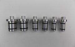 Stringendo-Tools Zentrier Achs-Adapter-Set 6-teilig, 12/15/20mm