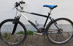 "Rocky Mountain 1993 Blizzard Performance Racer 18,5"" MTB 26"" schwarz/weiß"