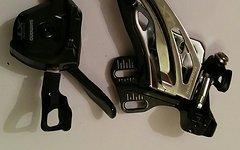 Shimano XT Umwerfer 2x11 inkl. Schalthebel