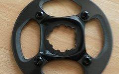 SRAM X01 Carbon-Bashguard inkl. Spider und Kettenblattschrauben