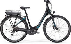 Merida E-SPRESSO CITY 410 DX 2016 schwarz / blau E-Bike
