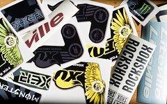 Aufkleber Rock Shox, Marzocchi, Fox, ZTR, BOS, diverse Restdrucke nochmals reduziert Sale%%%