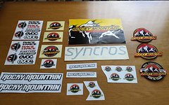 Rocky Mountain Syncros Sticker Aufnäher
