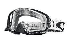 Oakley Crowbar MX Tagline Clear Goggle *NEU*  35€ !!