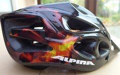 Alpina Torro MTB-Helm, Größe 57 - 62 cm, sturzfrei