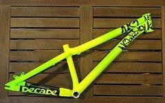 NS Bikes Decade Alu Dirt Rahmen NEU