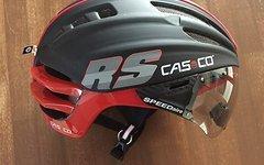 Casco SPEEDairo RS schwarz-rot