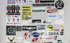 Verschiedenste Aufklerber, Sticker, Decals