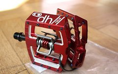 Crankbrothers Mallet DH/Race Klickpedale rot