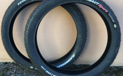 "Kenda Juggernaut Sport DTC Fatbike Drahtreifen 26"" Neuwertig 2 Stück!"