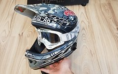 The Industries Helm inkl IXS Goggle - Gr. L