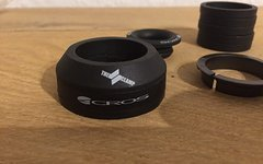 """Acros The Clamp 1 1/8"""" - 1 1/4 """" Tapered IS"""