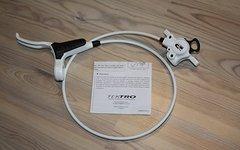 Tektro HDC-300 Scheibenbremse weiss / vorne