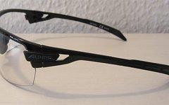 Alpina Tri-Scray Sportbrille mit Wechselgläsern (schwarz, orange, klar)