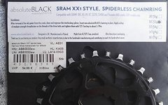 Absolute Black 30T N/W Kettenblatt Direct Mount GXP/BB30 Long