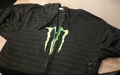 Monster Hoodie / Zipper Gr. XL