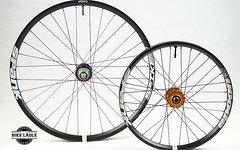 """Spank Spike 33 / Spoon 28 Cargo-Bike Laufradsatz 26""""/20"""" mit Hope Pro 4 Evo Naben"""