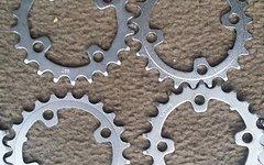 Shimano Kettenblätter 22 Zähne 3fach, 4 Arm, 104 Lochkreis