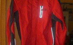 Gore Bike Wear Alp-X Regenjacke + Kapuze S rot Gore-Tex