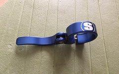 Sixpack Sattelklemme 34,9mm blau