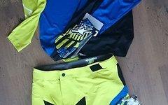 Alpinestars Sight L/S Jersey, royal blue / acid yellow, Gr. L *NEU*