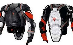 Dainese Wave jacket XL - Rückenprotektor Impact Race 661 ion fox