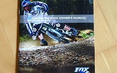 Fox Owner's Manual - Forks and Shocks 2009