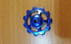 Schalträdchen Universal Aluminium Blau