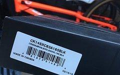 Race Face Sixc Carbon DH Kurbeln, 165mm x 83mm 34t DM NW Blatt