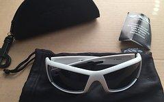 KED Sportbrille Fahrradbrille Brille weiss L&B Sonnenbrille Case 0822312
