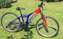 Konbike Kinder MTB auf 24 Zoll Rädern