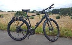 Cube Hyde 2016 Herren 58 cm black orange Custom Aufbau Trekkingbike