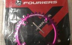 Fouriers Kettenblatt narrow wide 34T purple NEU unverbaut