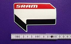 SRAM Sticker Aufkleber bike mtb